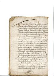 Document notarié - legs par Arnaud Duthoya du domaine de Malagarre. : 2ème page |