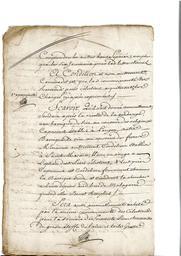 Document notarié - legs par Arnaud Duthoya du domaine de Malagarre. : 4ème page  |