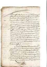 Document notarié - legs par Arnaud Duthoya du domaine de Malagarre. : 6ème page  |