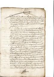 Document notarié - legs par Arnaud Duthoya du domaine de Malagarre. : 7ème page |
