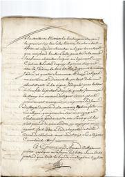 Document notarié - legs par Arnaud Duthoya du domaine de Malagarre. : 9ème page  |