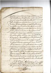 Document notarié - legs par Arnaud Duthoya du domaine de Malagarre. : 10ème page |