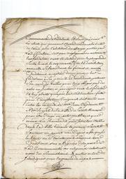 Document notarié - legs par Arnaud Duthoya du domaine de Malagarre. : 12ème page  |