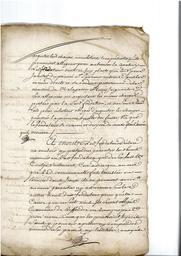 Document notarié - legs par Arnaud Duthoya du domaine de Malagarre. : 13ème page  |