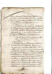Document notarié - legs par Arnaud Duthoya du domaine de Malagarre. : 14ème page |