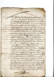 Document notarié - legs par Arnaud Duthoya du domaine de Malagarre. : 15ème page  |