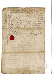 Document notarié - legs par Arnaud Duthoya du domaine de Malagarre. : 18ème page |